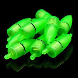 مصغّرة زرقاء اللون الأخضر [لد] ليل تحت مائيّ [فيش هووك] مشبك عوامة قطة ضوء