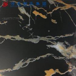 Decoração de textura de mármore PVC filme impresso para papéis de parede/Painel
