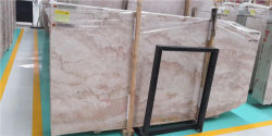 La pierre naturelle rose/blanc/rose/poli de couleur beige perfectionné pour le sol en marbre crème/mur brames ou des tuiles/comptoirs/les escaliers et des sills/colonne/mosaïque Décoration des Intérieurs