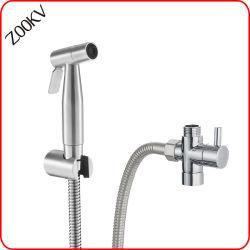 Опрыскиватель из нержавеющей стали струей воды в ванной комнате есть душ биде туалет головки блока цилиндров,