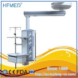 Singolo pendente di giro chirurgico del braccio ICU di funzionamento di ambulatorio medico manuale della stanza (HFP-SD90/160)