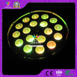 18PCS 18W Rgbwauv 6in1 LED NENNWERT Summen-Stadiums-Licht