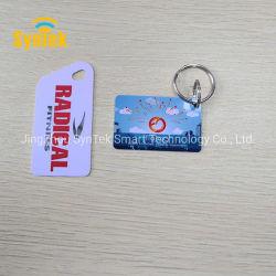 Kundenspezifische Form gestempelschnittene Visitenkarte Plastikder karten-nichtstandardisierte Größen-spezielle Form-NFC