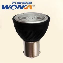 Comercio al por mayor 2.5W FOCO LED MR11 Bombilla de la carcasa de aluminio negro para mueble de la iluminación