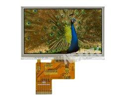 Nextek 4.3'' 480*272 IPS LCD legible con luz solar 1000 Nits