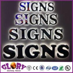 Voyant LED voie lettre signer pour l'extérieur pancarte