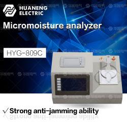 Transformator-Öl-Wassergehalt-Prüfvorrichtung basiert auf Feuchtigkeits-Titrierung-Messinstrument Karl-Fischer