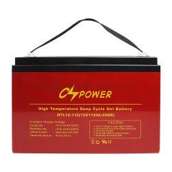 中国SMFのインバーターのための太陽記憶のゲル電池12V 110ah