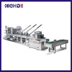 Verpakkende Machines van de Stroom van drie de Zij Plastic van de Lepel van de Vork van het Mes van het Weefsel Zoute Reeksen van de Peper