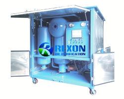 Vacuum elaborare il purificatore di olio del trasformatore asciugano e degassano da olio