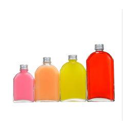 Wholeasle 16oz 500ml de zumo de frutas bebidas claras leche botellas botellas de vidrio para envases