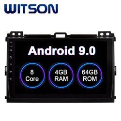 Witson Android 9.0 écran tactile de DVD pour voiture Toyota 2006-2010 Prado 4 Go de RAM 64 Go de mémoire Flash grand écran dans la voiture lecteur de DVD
