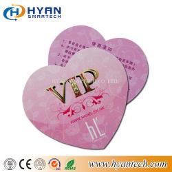 Элегантный нестандартный размер неправильной формы пластиковую карту из ПВХ для клуба VIP/членство/Loyalty Management