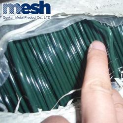 1,15mm revestida de PVC Fio galvanizado Branco revestimento de PVC vinculativo o fio de ligação PE revestidos de fio de suspensão
