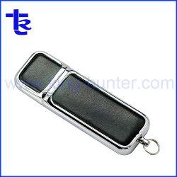 PU革USBのフラッシュ駆動機構はギフトUSBのフラッシュディスクカスタマイズする