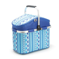Isolatie Picnic Pack Fresh Carry-on lunch Box Cooler Basket