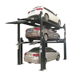 Stapel-Parkensystem mit 4 Pfosten der direkten Fabrik des CERS automatisches dreifaches für Autospeicher