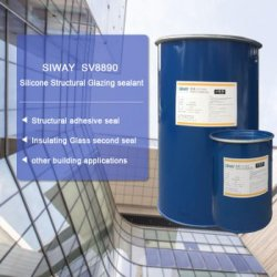 Two Parts RTV Double Glass Silicone Sealant Structural Silicone Glazing Afdichtmiddel voor de gordijnairbag