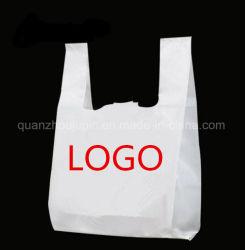 プラスチックショッピング・バッグを広告するOEMプリント食品等級のスーパーマーケット