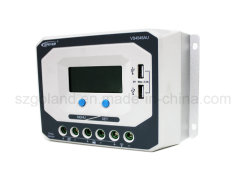 Новейшие 10-60солнечной USB зарядное устройство системы питания контроллера