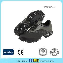 Zapatos de seguridad para los golfistas de diseño de silla tradicional tracción duradero