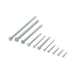 Boulons à Bride DIN6921 Vis spécialisés en acier au carbone chrome zinc noir Dacromet