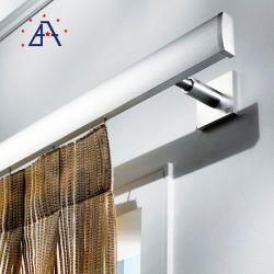 Nouveau design en aluminium anodisé de taille personnalisée Rideau Pôle de chenille