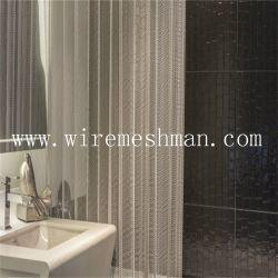 Fabricado en China la cortina de seguridad de acero inoxidable