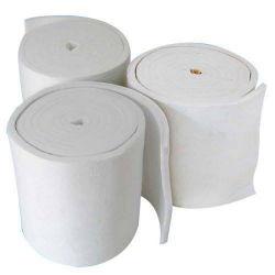 Couverture réfractaire Matelas isolant en fibre de céramique 96kg/m3 128 kg/m3