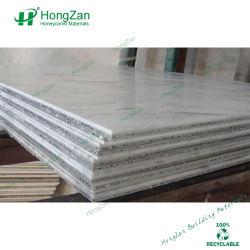 Hardsteen Afdrukken Aluminium Honeycomb-Paneel Voor Binnenwand