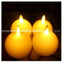 Оформление светодиодная свеча, питание от аккумулятора светодиодная свеча