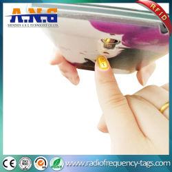 13.56MHz RFID NFC Micro pequeña uña del dedo de la etiqueta LED