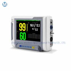 Sala de ECG para UTI 12,1 polegadas multiparamétricas sinais vitais do paciente cardíaco Monitor de Pressão Arterial Digital