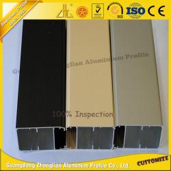 Porte de cuisine Profil en aluminium aluminium Poignée des armoires de cuisine