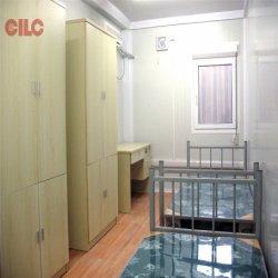 Ablution、洗面所、シャワーおよび調節が付いている容易なインストール済み小屋のプレハブの家