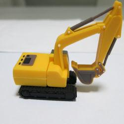 Крюк экскаватора в подарок ПВХ USB флэш-диска можно настроить 256 ГБ