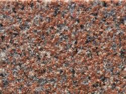 G386 de granito vermelho da Península para a construção do prédio