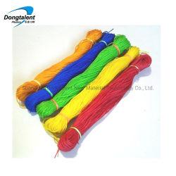 Plastik-u. Polypropylen-Seil-verdrehtes Plastikstroh-Seil
