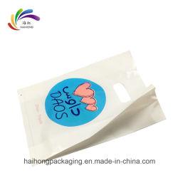 Custom ручку магазинов пластиковые мешки для переноски Дизайн логотипа печать