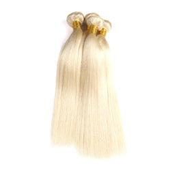Trama dissipata doppio peruviano biondo dei capelli umani dei capelli diritti 100 Remy del Virgin #613