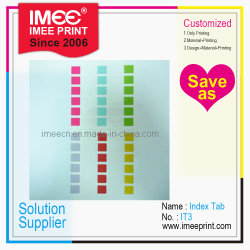 Imeeプリント習慣OEM ODMの印刷指標タブIt3