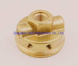 Латунь медь корпус клапана с ЧПУ тепловой обработки налаживание часть