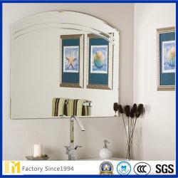 Sin cerco plata / revestidos de aluminio de 4mm 3mm 2mm Precio Espejo de baño