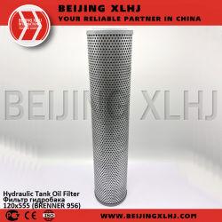 Brenner 956 Filtro de aceite del depósito hidráulico de 120x555