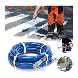 Haute résistance de la rondelle de pression hydraulique sur le fil tressé tuyau en caoutchouc