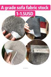 Reine Farben-weiche Samt-Gewebe-betriebsbereite Waren-auf lagergewebe