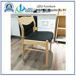 Cadeira de jantar em madeira de carvalho natural simples sala de jantar clássica esculpidas em madeira sólida Cadeira de jantar