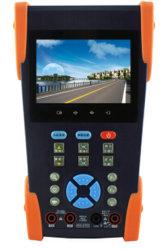 """3.5 """" IP Camera Tester CCTV Tester Monitor IPおよびAnalog Camera Testing 12V Outpu"""