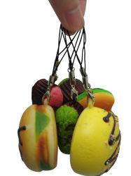 NahrungsmittelMobiltelefon-Charme des Soem-neuer Entwurfs-3D künstlicher