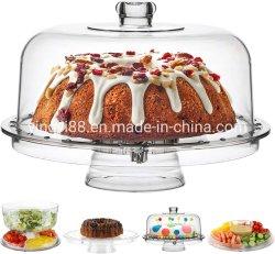 Commerce de gros gâteau Facotory présentoir acrylique